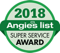 Angies List Award - 2018